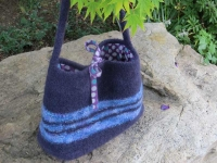 Felted Bag with Lininf