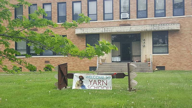 YARN SCHOOL!!
