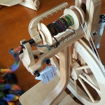 My attempt at the spinning wheel