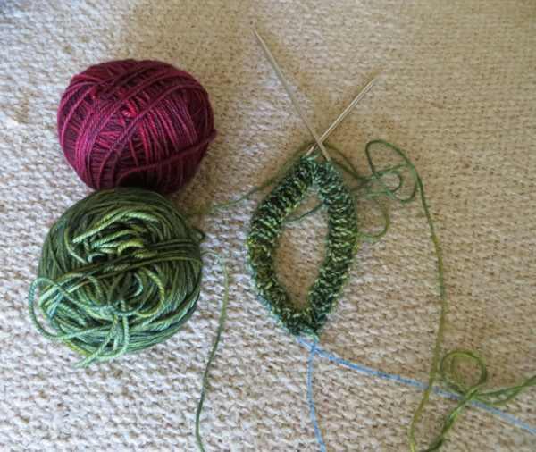 Fingerless Gloves Knitting Pattern Magic Loop : Magic Loops Knitting Project Fingerless Gloves Addi ...