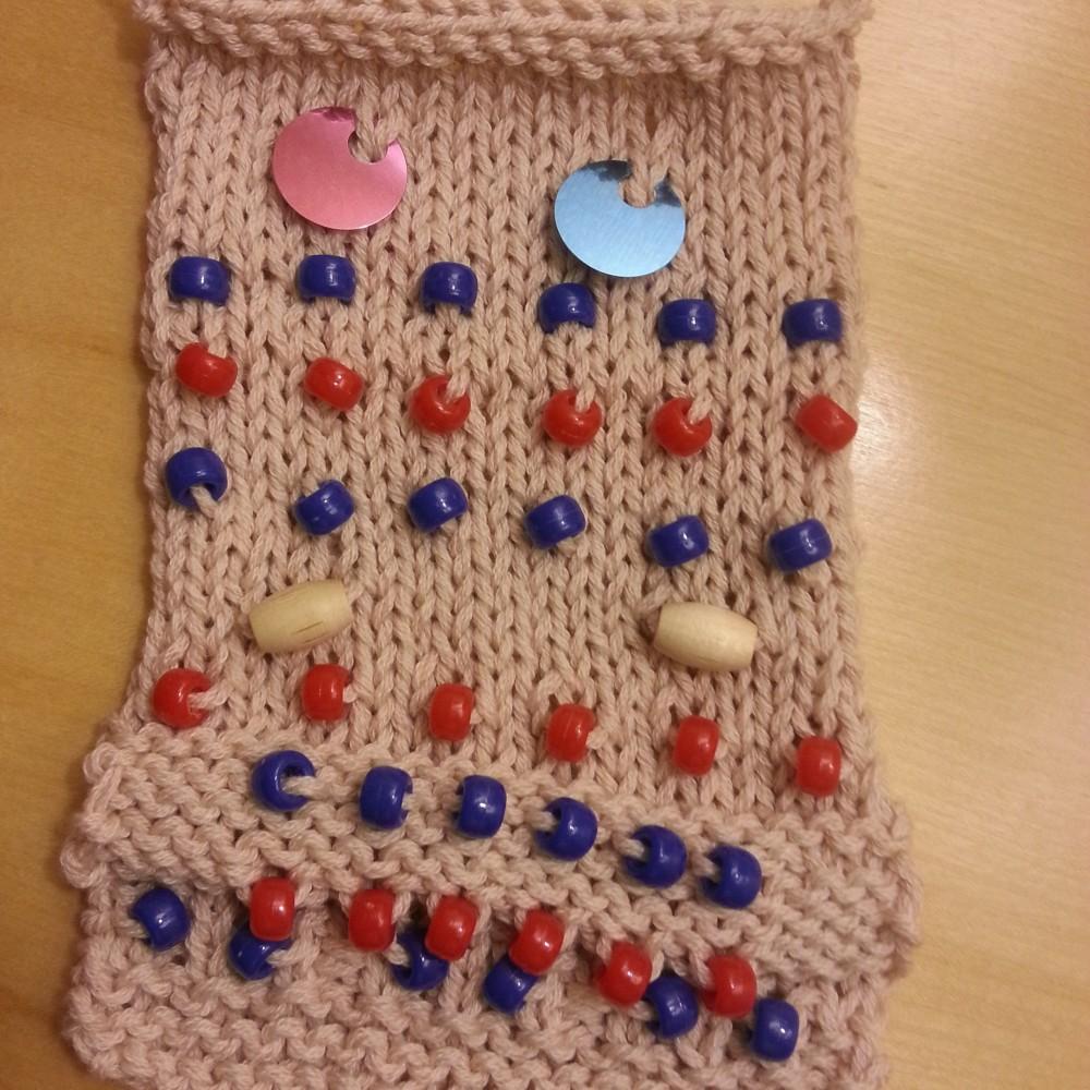 Bead Knitting Sampler