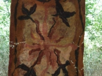 A beautiful hand felted piece