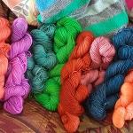 Beautiful hand dyed yarn